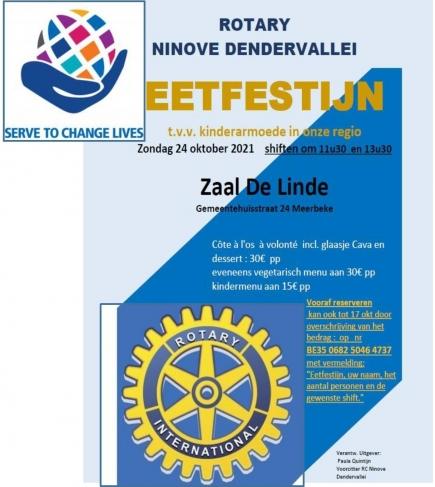 Rotary Ninove-Dendervallei tot uw dienst